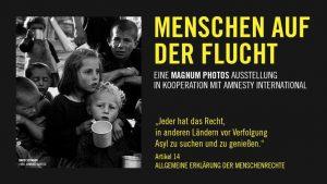 Menschen auf der Flucht- Fotoausstellung